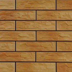 Фасадна плитка Cerrad CER 5 bis структурна 300x74x9 мм dark gobi