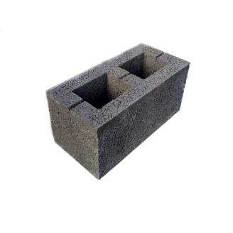 Блок стеновой керамзитобетонный 390х190х190 мм