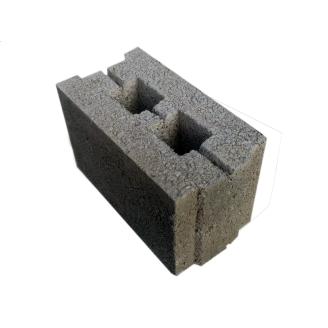Блок стеновой керамзитобетонный 390x160x190 мм