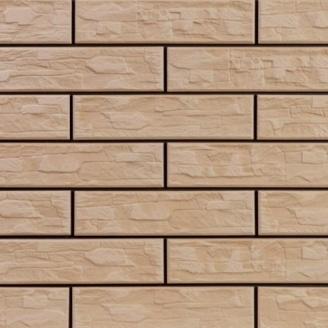 Плитка фасадная Cerrad CER 11 bis структурная 300x74x9 мм сappucino