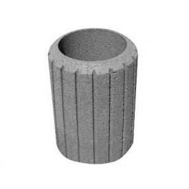 Цветник Урна 546*595 мм серый