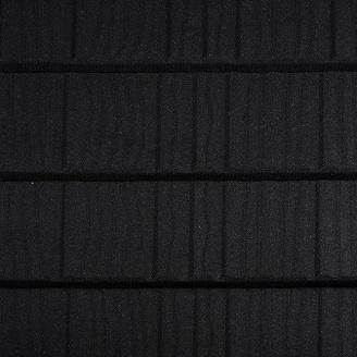 Композитная черепица Metrotile Wood 1325x410 мм Coal Black