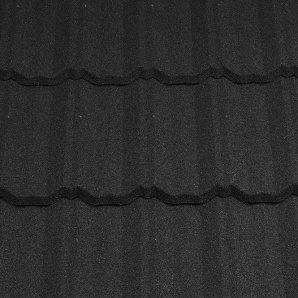 Композитная черепица Metrotile Classic 1300x410 мм Coal Black
