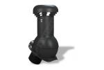 Вентиляционный выход Wirplast Wirovent Perfekta Pro W13 125x440 мм черный RAL 9005