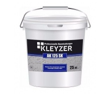 Декоративна штукатурка KLEYZER AK 125 SK акрилова короїд 25 кг біла