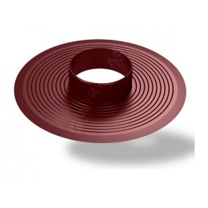 Основа для ковпака Wirplast Flat Base U32 110 мм коричневий RAL 8017