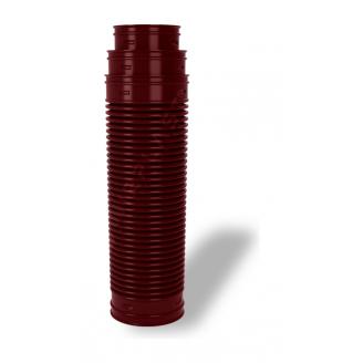 Перехідник для вентиляційних виходів Wirplast Ruroflex U61 150x600 мм коричневий RAL 8017