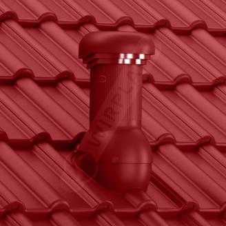 Вентиляційний вихід Wirplast Wirovent Tile W17 Pro 125x440 мм червоний RAL 3009