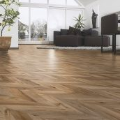 Ламинат Kaindl Natural Touch Wide Plank (Fishbone) 4V 1383х244х8 мм Oak Fortress Rochesta