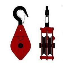Блок вантажопідіймальний HQG1-3,0 двуроликовый з гаком 3,2 т