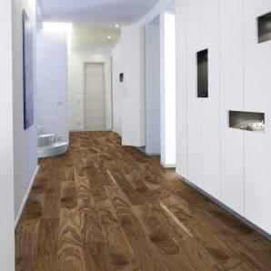 Ламинат Kaindl Creative Glossy Premium Plank 1383х159х8 мм Noce VIVA