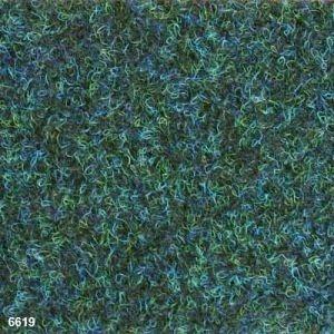 Ковролин Beaulieu Real Picasso Gel полипропилен 6 мм 4х30 м зелено-синий (6619)