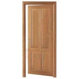 Двери из сосны DerevBud глухые светлые 42х700х1900 мм