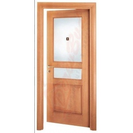 Двери из сосны DerevBud с фрамугой 42х800х1900 мм