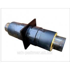 Неподвижная опора в ПЕ оболочке 76/140 мм