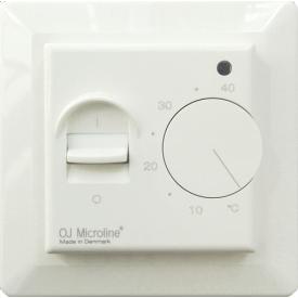 Терморегулятор для теплого пола OJ ELECTRONICS MTN-1991 80х80х50 мм белый