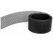 Вентиляционная лента свеса Wentop ПВХ 100х5000 мм черная