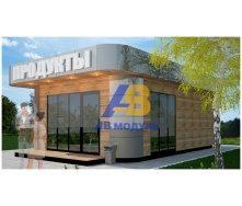 Строительство торгового павильона 51 м2