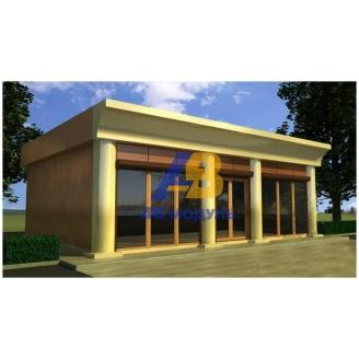 Строительство торгового павильона 60 м2