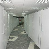 Сантехническая перегородка НОВЫЙ ПРОЕКТ ГРУПП туалетная 900x1200x2000 мм белый