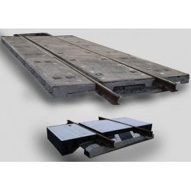 Плиты железобетонные переездного настила 8,1 м