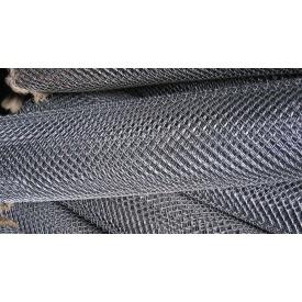Сетка-рабица оцинкованная 3 мм 10х10 см 2х10 м