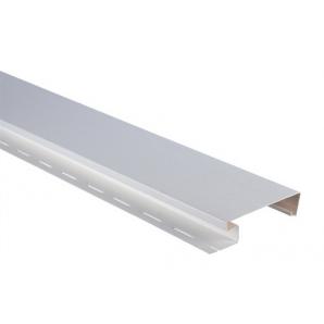 Планка Альта-ПрофильНаличник широкий Т-09 3050 мм білий