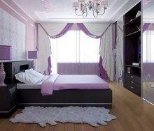 Лавандовое очарование спальни