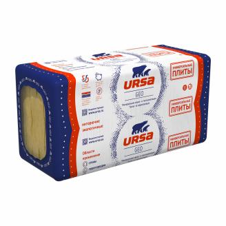 Теплоізоляція URSA GEO Універсальні плити 100x600x1250 мм