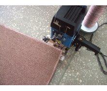 Обработка коврового покрытия оверлоком
