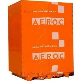 Газоблок автоклавний Aeroc D-300 200х250х600 мм
