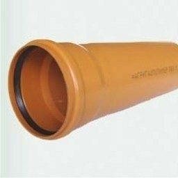 Труба канализационная ПВХ 160x3,2х1000 мм