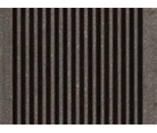 Террасная доска Werzalit TerraZa profile 145х38х4000 мм Карбоне 485