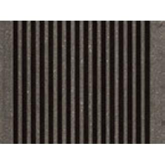 Террасная доска Werzalit Paseo Bodenfliese TerraZa profile BZ 145х38х6000 мм Карбоне 485