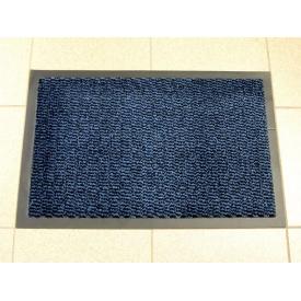 Брудозахисний придверний килим Leyla 35 900х1200 мм синій