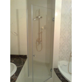 Душевые двери стеклянные безрамные для ванны, для душа