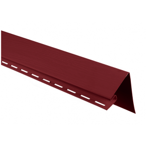 Білявіконна планка Альта-Профіль KANADA Плюс Преміум 3050 мм червоний