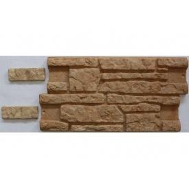 Фасадная плитка Rocky Балтийская скала 30х350х600 мм коричневый колотый 309