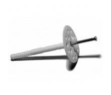 Дюбель для теплоизоляции с металлическим стержнем 100 мм