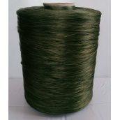 Нить для оверлока коврика меланж зеленый