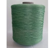 Нитка для килимового оверлока світло-зелена