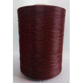 Нить для оверлока коврового покрытия коричневая