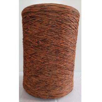 Нитка для килимового оверлока коричнево-помаранчева