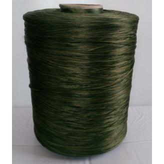 Нитка для оверлока килимка меланж зелений