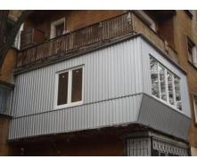 Реконструкція балкона під ключ