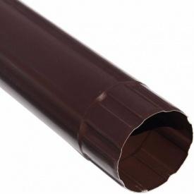 Водостічна труба Акведук Преміум 87 мм 3 м коричневий RAL 8017