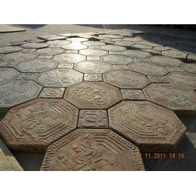 Комплект тротуарной плитки Rocky «Греция»; толщина: 40 мм.