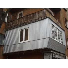 Реконструкция балкона под ключ