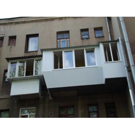 Крыша на балконе 1 м2