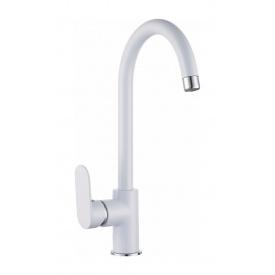 Змішувач для кухні IMPRESE LASKA білий (55040W)